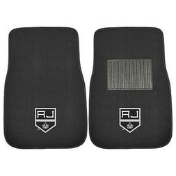 Fanmats 17166 NHL Los Angeles Kings 2-Piece Embroidered Car