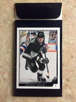 1993-94 Upper Deck Wax Box  Gretzky Box Bottom Card