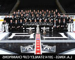 2014 STANLEY CUP CHAMPIONS  LOS ANGELES KINGS 8.5X11 TEAM PH