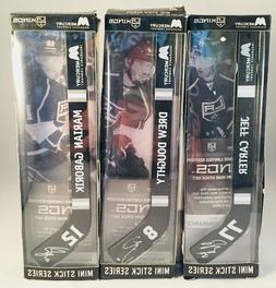 2015 LA Los Angeles Kings Mini Hockey Stick Giveaway Carter