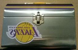 2019 Los Angeles Lakers SGA Lunch Box+Flag+Scarf+Bag+Coin+Ke
