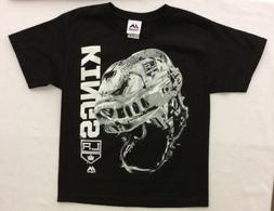 Majestic Boy's Los Angeles Kings Odd Man Rush Helmet Shirt,