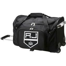 "Denco Los Angeles Kings 22"" 2-Wheeled Carry-on Duffel"