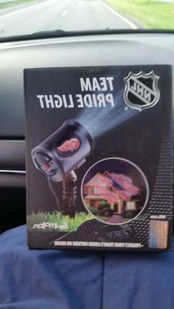 Detroit Red Wings NHL Team Pride Light-LED Projector-Indoor/