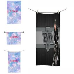 great Beach Towel Soft pool los angeles kings bath hand face