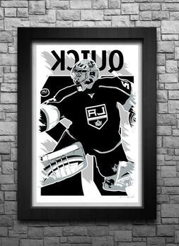 JONATHAN QUICK art print/poster LOS ANGELES KINGS FREE S&H!