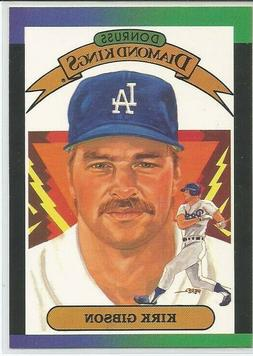 Kirk Gibson Los Angeles Dodgers 1989 Donruss DIAMOND KINGS I