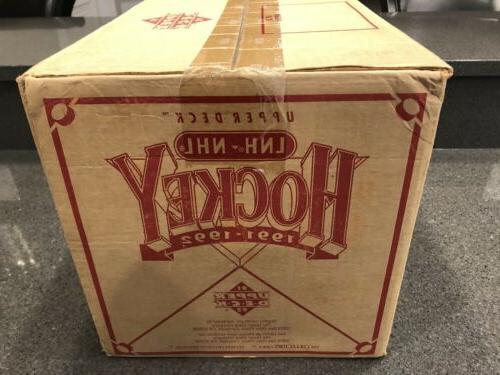 Upper Hockey Box Packs Sealed