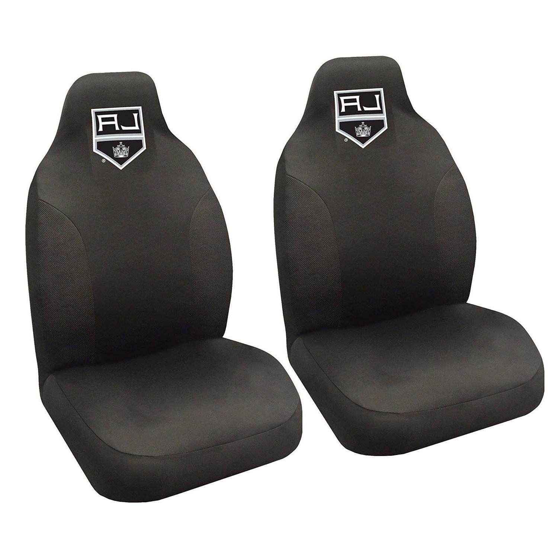 Hockey Los Seat Covers Set w/ Carpet 4PC