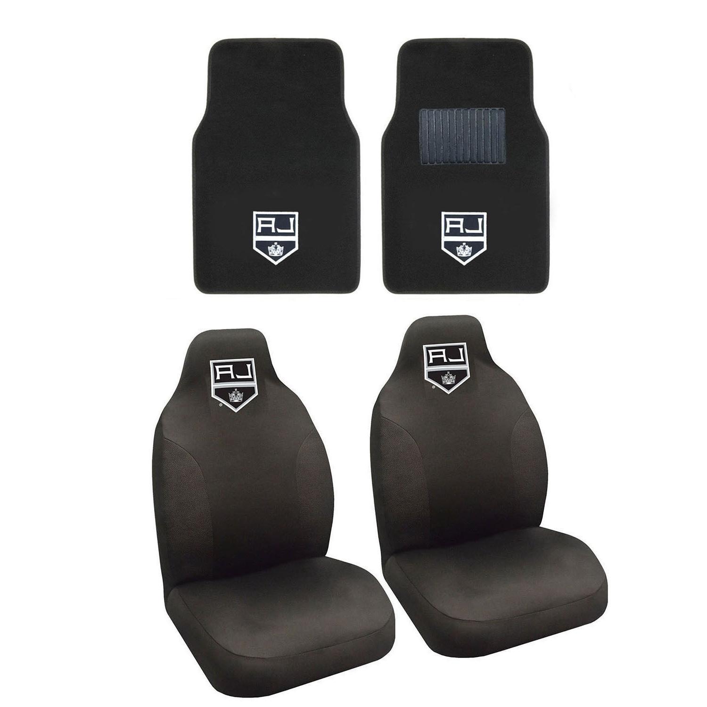 hockey los angeles kings seat covers set