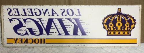 los angeles kings 1980s bumper sticker dionne