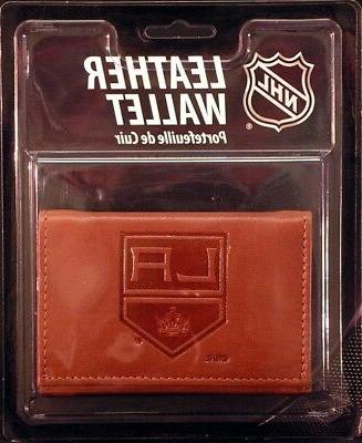 Los Angeles Kings Embossed Leather Trifold Wallet