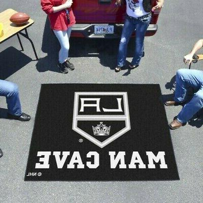 los angeles kings man cave tailgater rug