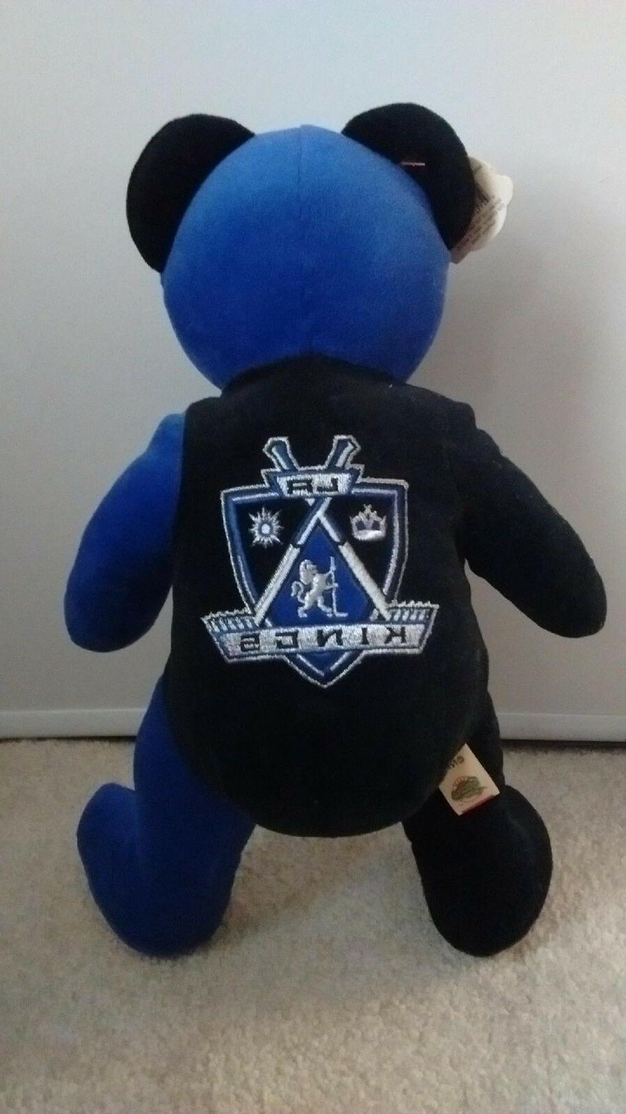 Los Kings Teddy Bear New with Tags and Bumper
