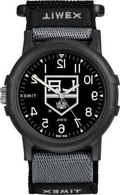 Los Angeles LA Kings Youth FastWrap Recruit Timex Watch