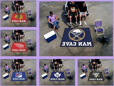 nhl licensed 5 x6 man cave tailgater