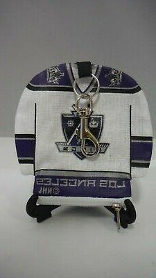 NHL LICENSED PRODUCT - LOS ANGELES KINGS JERSEY KEY CHAIN