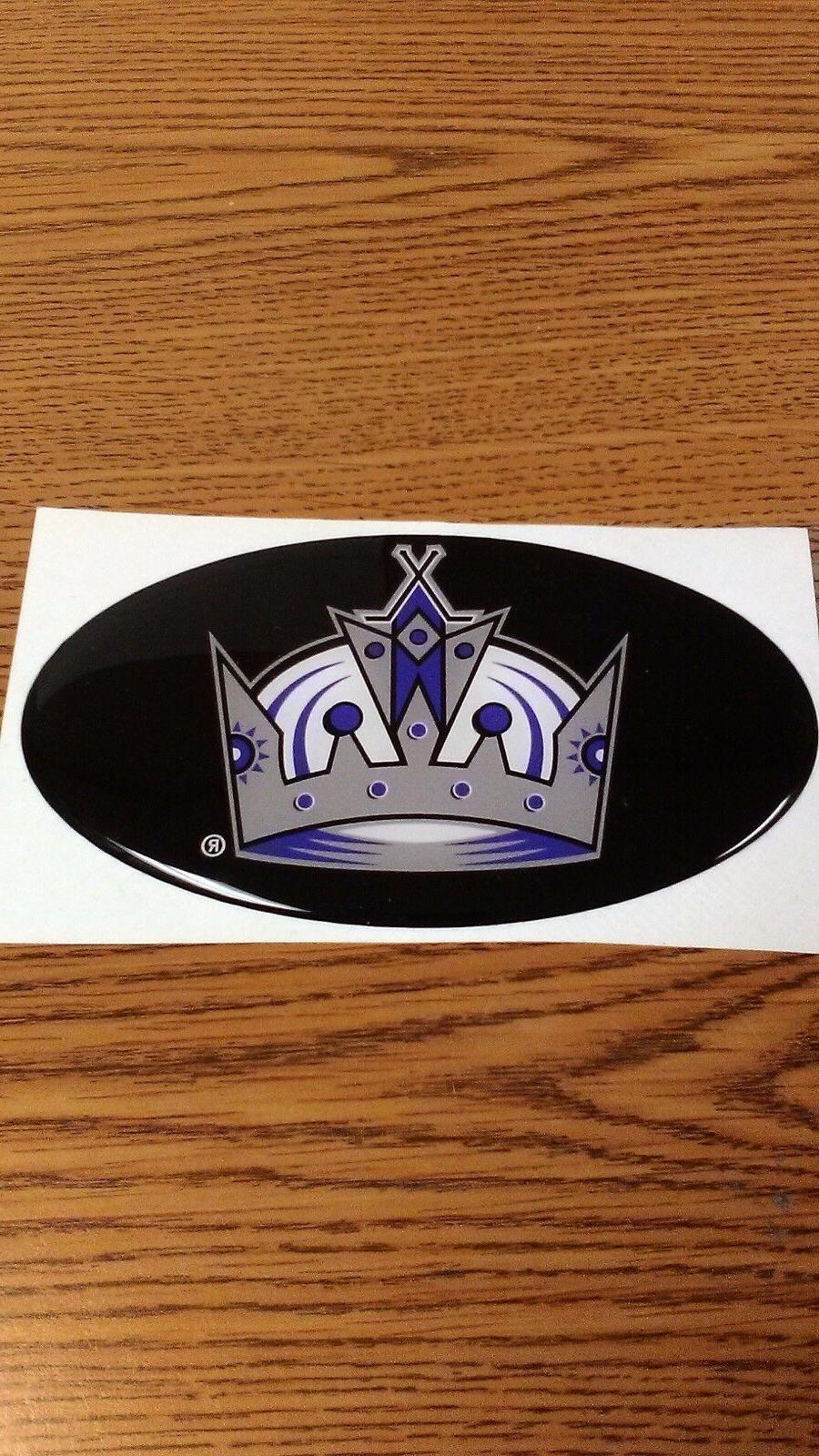 nhl los angeles kings car bumper sticker