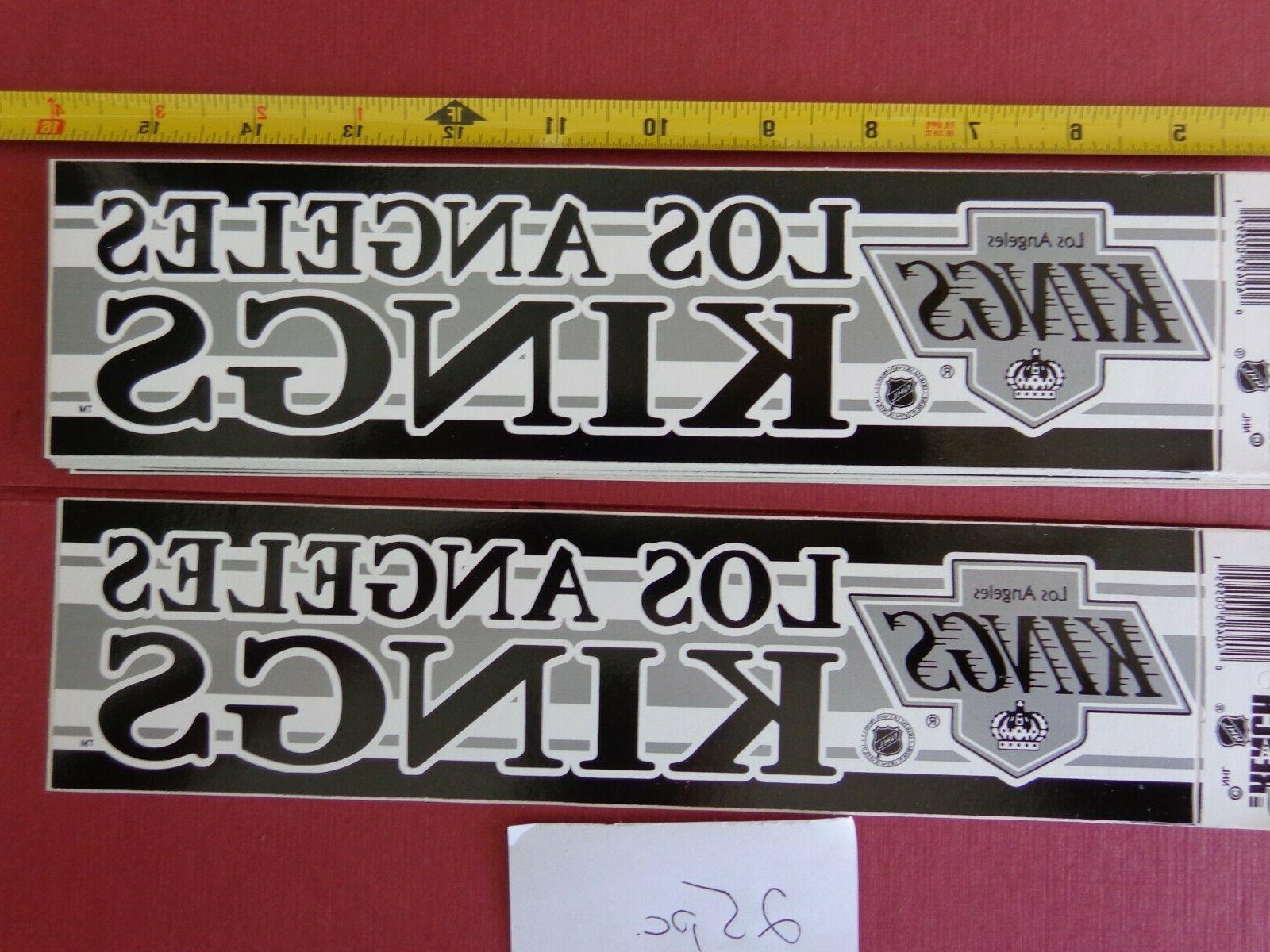 vintage nhl los angeles kings hockey bumper