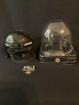 LA Kings NHL Hockey Team Logo Black SportStar Player Mini He