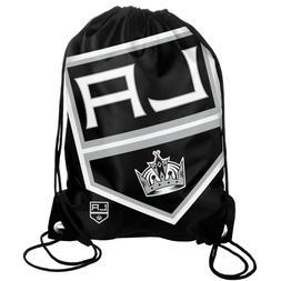 LA Los Angeles Kings Back Pack/Sack Drawstring Bag/Tote NHL