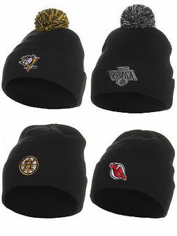 Zephyr Lincensed NHL Professional Hockey Team Winter Knit Ha