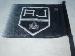"Los Angeles Kings  14"" x 11""  double-sided CAR WINDOW FLAG"