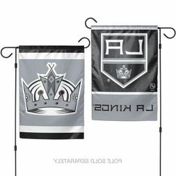 "Los Angeles Kings 2 Sided 12.5"" X 18"" Wincraft Garden Flag-N"
