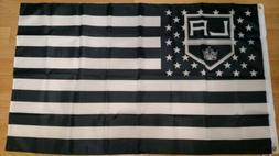Los Angeles Kings 3x5 American Flag. Stars & Stripes. Free s