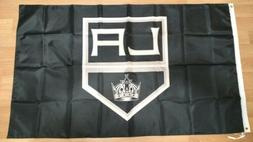 Los Angeles Kings 3x5 Flag. LA Kings 3x5 Flag. Free shipping