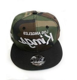 Los Angeles Kings New Era 9Fifty Army Camo Vintage Script Sn