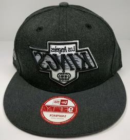 Los Angeles Kings New Era 9Fifty Charcoal Vintage Chevy Logo