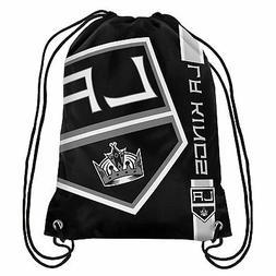 Los Angeles Kings Back Pack/Sack Drawstring Bag/Tote New bac