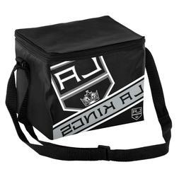 Los Angeles Kings Big Logo Stripe 6 Pack Cooler