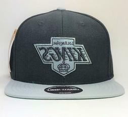 Los Angeles Kings Black/Gray Snapback Hat American Needle Li
