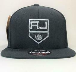 Los Angeles Kings Black Snapback Hat American Needle License