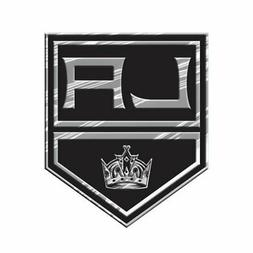 Los Angeles Kings CE Silver Chrome Colored Raised Auto Emble