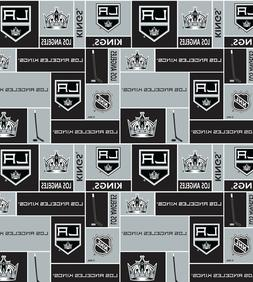Los Angeles Kings Cotton Fabric-NHL Cotton Quilting Fabric S