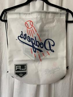 Los Angeles Kings Dodgers Cinch Backpack 🎒 Drawstring Sac