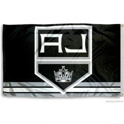 LOS ANGELES KINGS FLAG 3'X5' NHL LOGO BANNER: FAST FREE SHIP