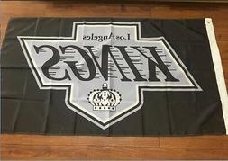 Los Angeles Kings Flag 3x5 Feet Banner Flag NHL LA logo