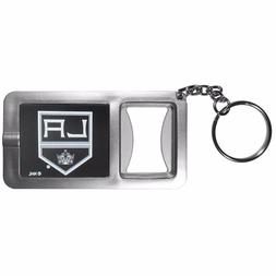 Los Angeles Kings Flashlight Key Chain with Bottle Opener NH