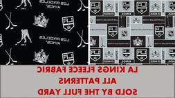 Los Angeles Kings Fleece Fabric-NHL Fleece Blanket Fabric So