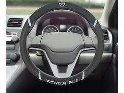 Los Angeles Kings FM Premium Embroidered Black Auto Steering