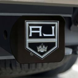 Los Angeles Kings Heavy Duty 3-D Color Emblem Black Chrome M