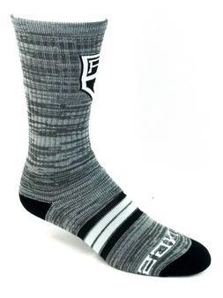 Los Angeles Kings Hockey Gray RMC & Black Quad Stripe Deuce
