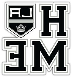 Los Angeles Kings Home NHL Sport Car Bumper Sticker Decal -