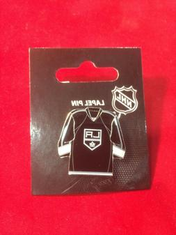 Los Angeles Kings Jersey Pin - NEW - NHL Licensed - Butterfl