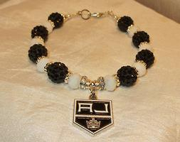 Los Angeles Kings~LA~Bracelet~Jewelry~Logo Charm~Drew Dought