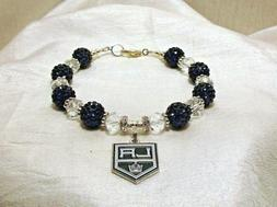 Los Angeles Kings~LA~Bracelet~Jewelry~Logo Charm~Dustin Brow